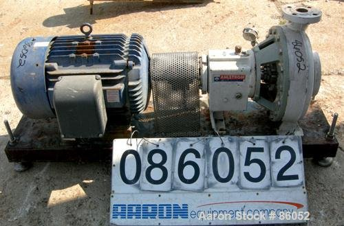 Used- Ahlstrom Centrifugal Pump, Size
