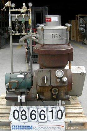 Used- Alfa Laval FUVPX-207-AGT-79-60 Desludger
