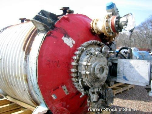 Used- Pfaudler Approximately 2000 Gallon