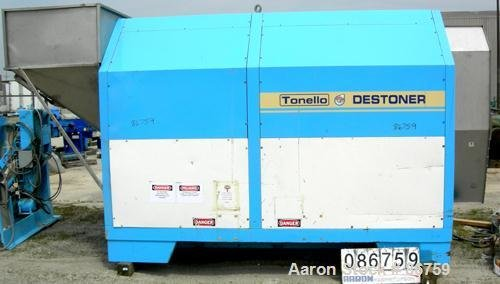 "Used- Tonello Destoner Separator. 70"""