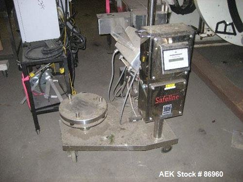 Used- Safeline Metal Detector, Model