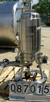 Used- Millipore Jacketed Cartridge Filter,