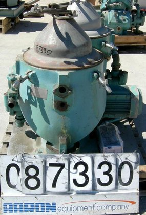 USED: Alfa Laval WHPX-505-TGD-24-60/881002 Desludger