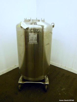 Used- Walker Stainless Pressure Tank,