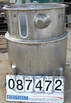 Used- Walker Stainless Tank, 100