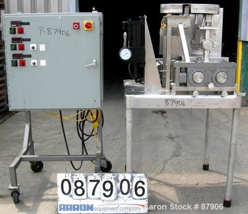 Used- Fitzpatrick Stainless Steel Chilsonator