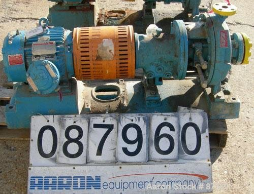 Used- Goulds Centrifugal Pump, model