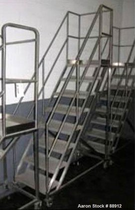 Used- Set of Portable Stairs,