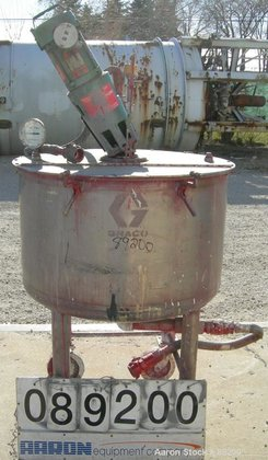 USED: Graco tank, 100 gallon,