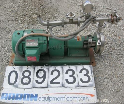 USED: Tri Clover centrifugal pump,