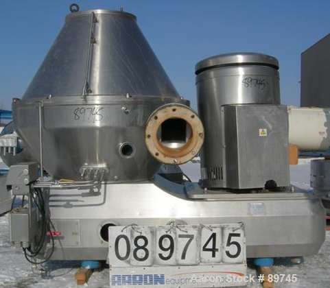 Used- KMA-Sudmo MKRS-330U-KG-70007 Desludger Disc
