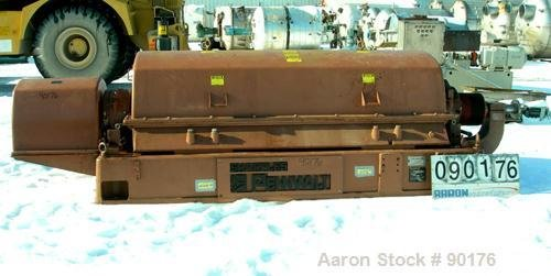 Used- Sharples PM-75000 Super-D-Canter Centrifuge,