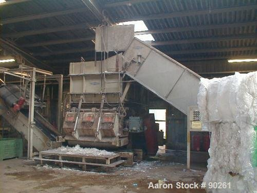 Used- Zeno Single Roll Shredder,