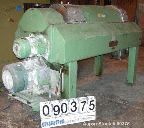 Used- Westfalia CA-450-00-32 Solid Bowl