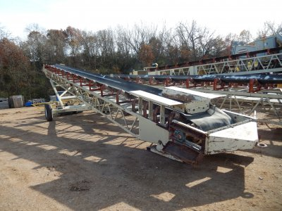 Superior 36x60 Portable Radial Stacking Conveyor in Eau