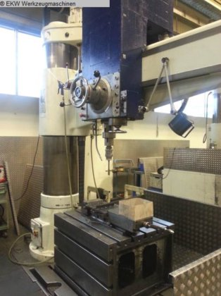 1981 Radial Drilling Machine CSEPEL