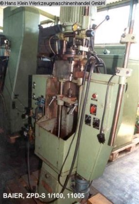 Facing and Centering Machine BAIER
