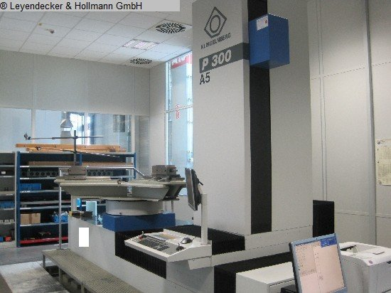 2008 Gear Testing Machine KLINGELNBERG