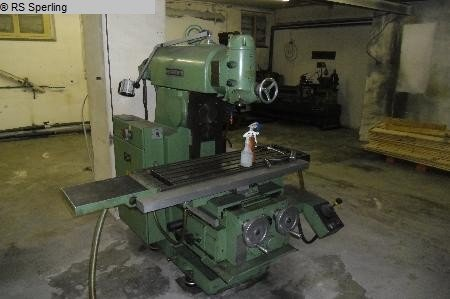 1976 Knee-and-Column Milling Machine -