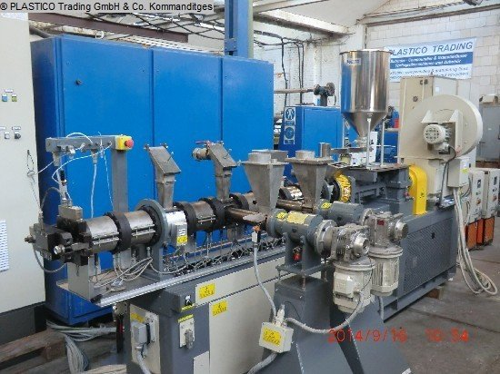 Compounding line COMAC EBC 40