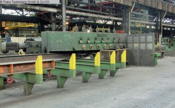 10-roll bar straightening machine WIRTH