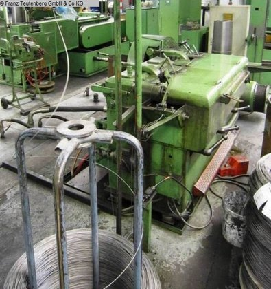 Fine wire drawing machine NIEHOFF