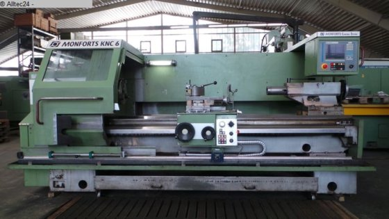 1996 Lathe - cycle controled