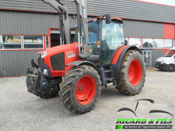 2013 kubota m110gx in la souterraine france. Black Bedroom Furniture Sets. Home Design Ideas