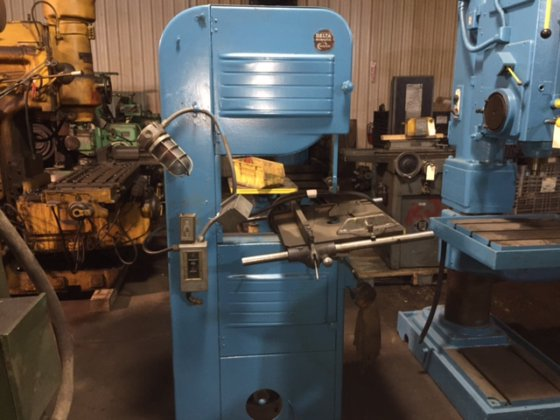 delta milwaukee cresent 20 vertical band saw for wood in new haven