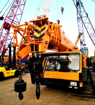 XCMG QY50K-I Hydraulic Truck Crane 50 Tons in Shanghai