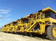 Caterpillar 777D in Western Australia,