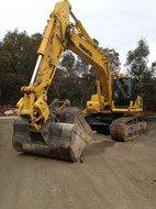 Komatsu PC270LC-8 in Templestowe, Australia