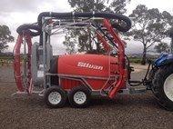 2014 SILVAN 3000L Trailed Turbowrap