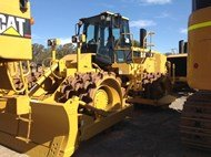 2007 Caterpillar 825H in Big