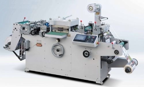 WQM320G-LABEL-CUTTING-MACHINE-WITH-HOT-FOIL-STAMPING in Istanbul, Turkey