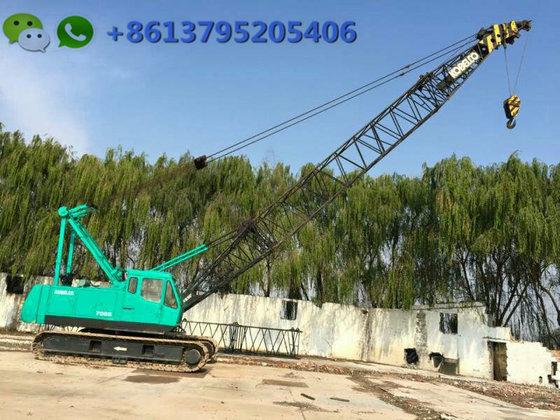 55 ton Japan crawler crane Kobelco 7055with good condition