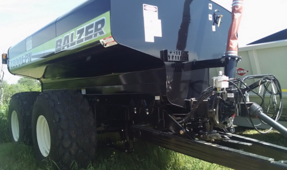 Balzer 4800 LPN Liquid Manure Tanker in Wisconsin, USA