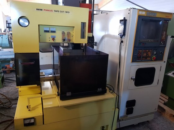 Amazing Cnc Wire Eroding Machine Matra Fanuc Tape Cut Wo In Bavaria Wiring Database Plangelartorg