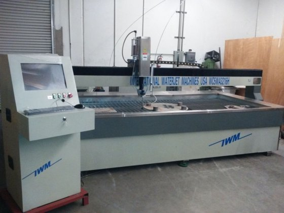 2017 5'x10' IWM CNC water jet cutter in Los Angeles, CA, USA