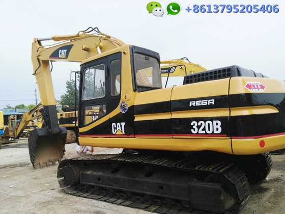 20 ton Caterpillar excavator 320B for sale, original Japan