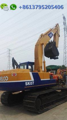 0 7m³ Kobelco SK07N2 excavator in Chittagong,18 ton Japan