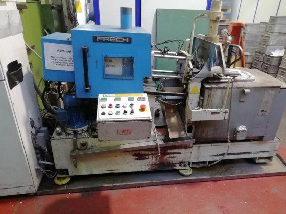 2000 Hot chamber pressure die casting machine FRECH DAW 5 # Ref  K 27 353  locking force 7,5 to in Germany