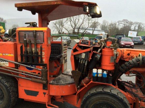 Sandvik DD210 V single boom drill jumbo in Ireland