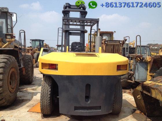 20 Ton Komatsu Diesel Forklift Fd200 7 From Japan For Sale 20 Ton Komatsu Forklift Truck In China