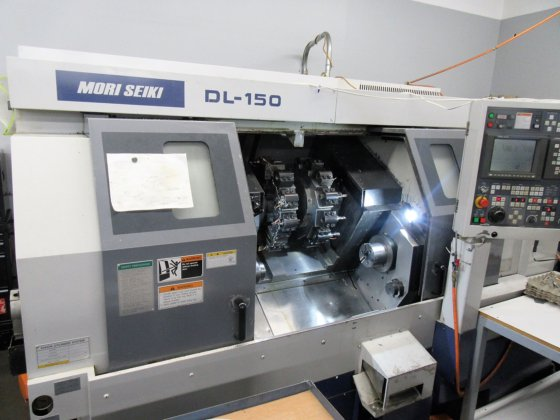 Mori Seiki DL150 6-Axis CNC Mill/Turn Center with Fanuc