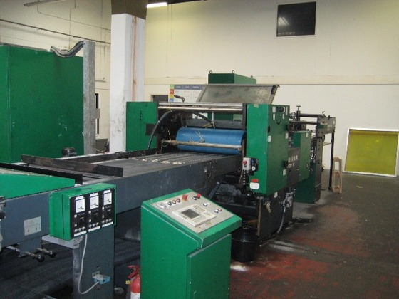 BILLHOFER SP76 SURFACE COATER (ref