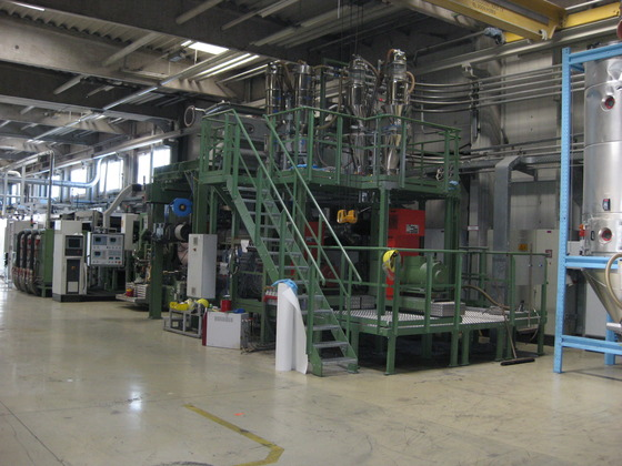 Modern FILM EXTRUSION LINE for