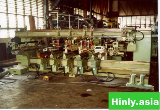 Biesse Multi-boring machine in Johor,