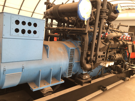 Used Dorman 16SETCWG140HC Generator Set