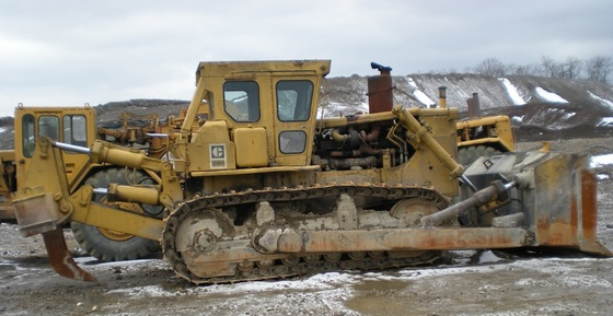 1975 Used Caterpillar D9H Dozer